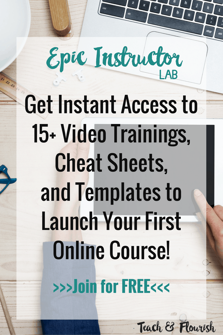 Free Course | Videos, Cheat Sheets, and Templates to Create Your First Course