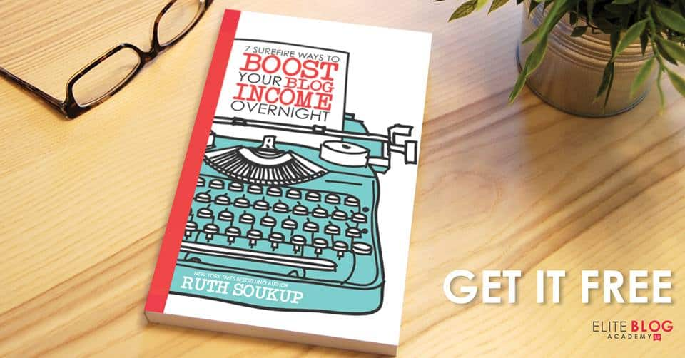 Free eBook: Learn 7 Ways to Boost Your Blog Income Overnight!