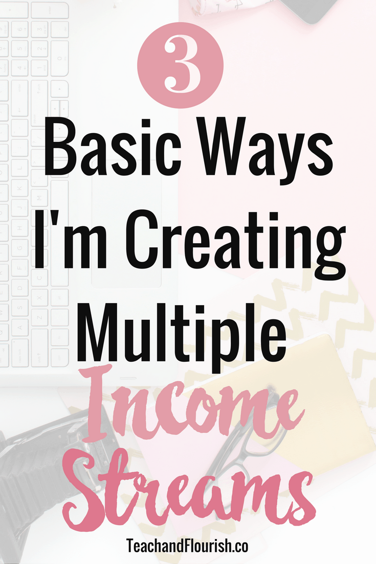 3 Basic Ways to Create Multiple Income Streams