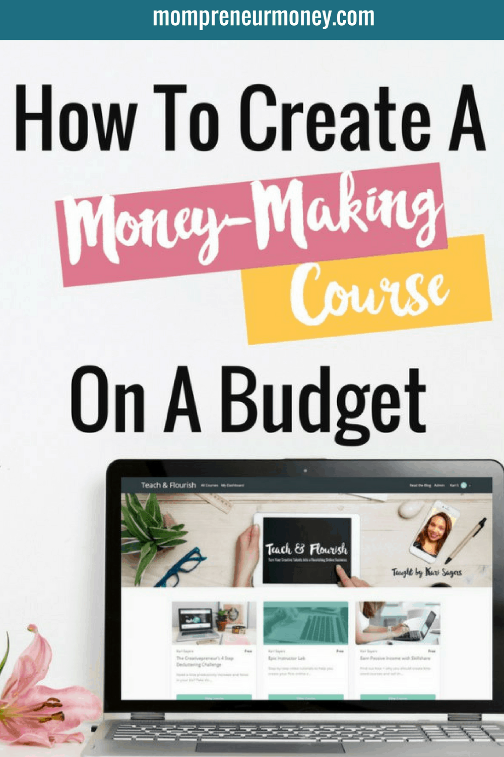 Kari Sayers Pinterest Templates_Money Making Course