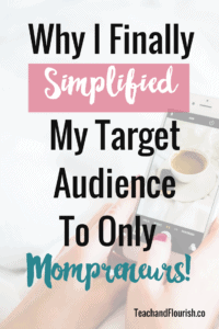 Are you trying to write for multiple audiences on your blog? I was super guilty of this too, but here is why + how I finally came to my senses. Click through for the full post.