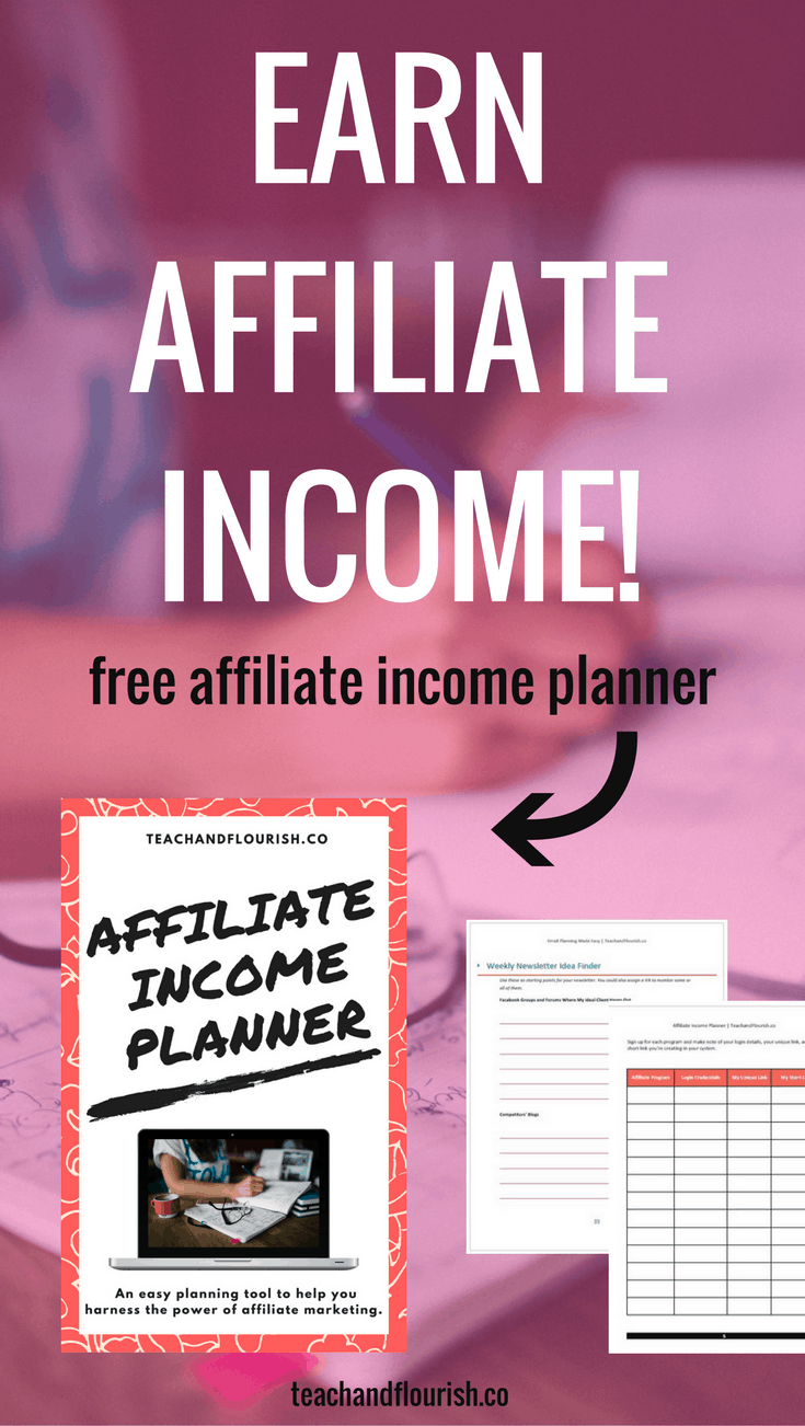 Learn how to start earning passive income from affiliate sales!