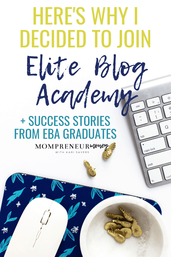 why I joined elite blog academy