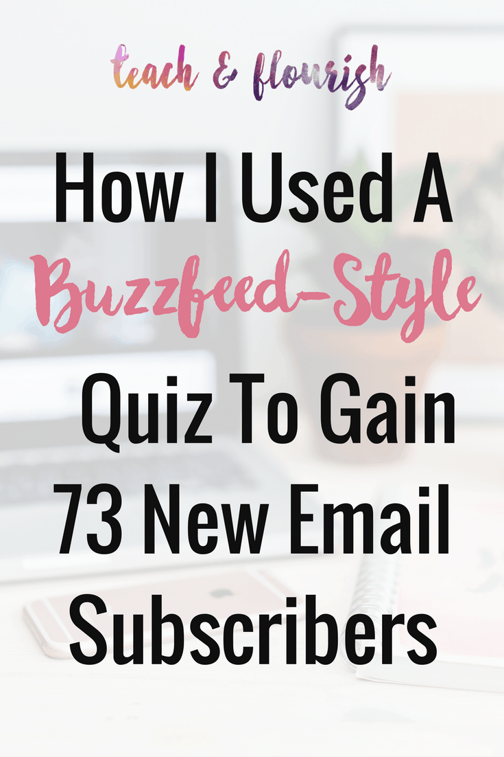 How i used a buzzfeed style quiz to get 73 new subscribers for Home decor quiz buzzfeed