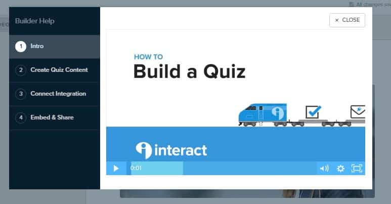 Interact Tutorial Help Videos How to Create an Online Quiz