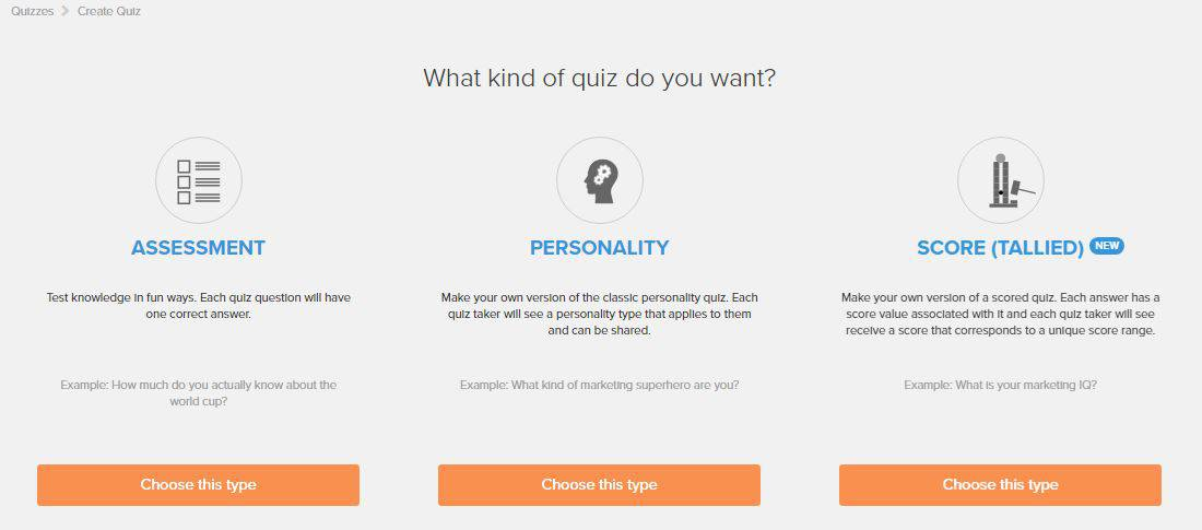 Interact Tutorial Step 3 How to Create an Online Quiz