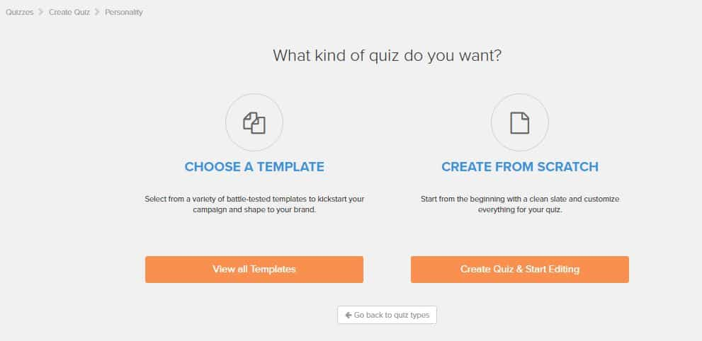 Interact Tutorial Step 4 How to Create an Online Quiz