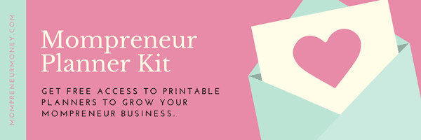 Mompreneur Planner Image with Heart Interview with a Successful Personal Finance Blogger