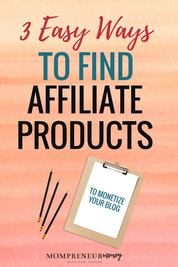 Find Affiliate Product to Monetize Your Blog