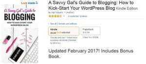 A Savvy Gals Guide to Blogging Snapshot A Savvy Gals Guide to Blogging Snapshot