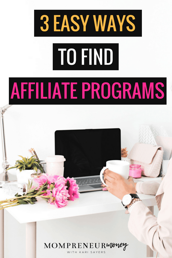 Ready to monetize your blog? Selling affiliate products is a great option with less hassle! Here are 3 ways to find affiliate programs and start earning.