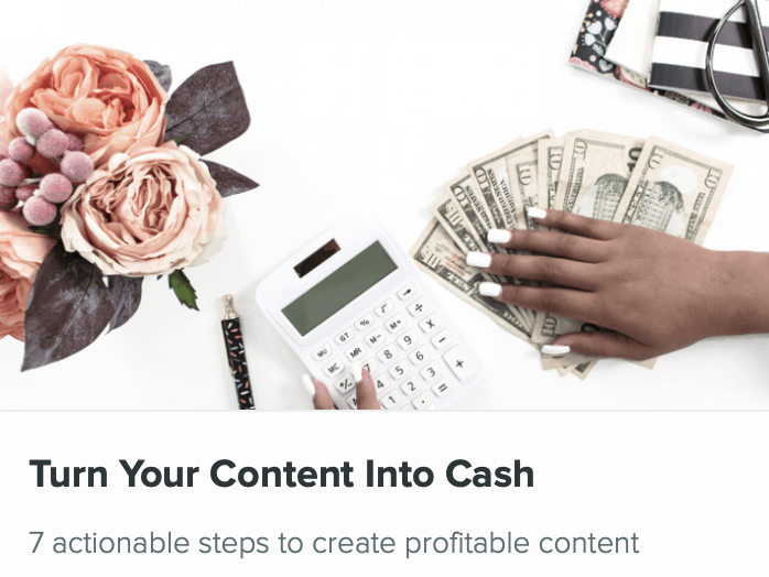 how to make money using existing content from your blog