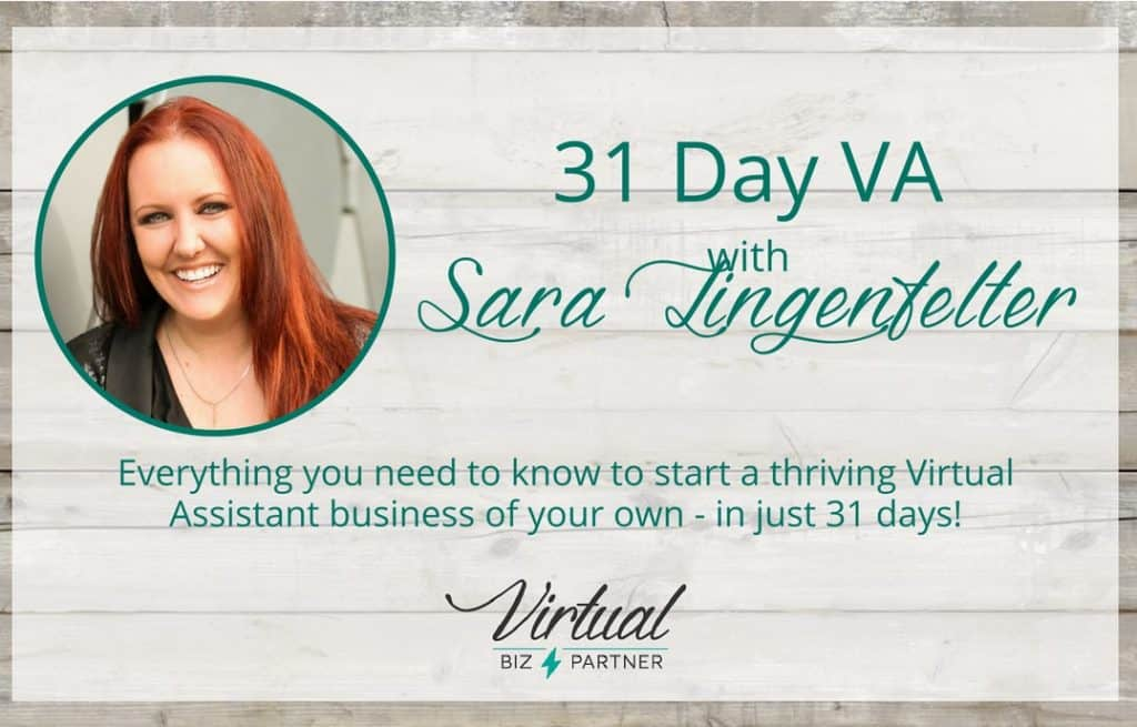 31 day VA graphic 6 Simple Steps to Become a Virtual Assistant