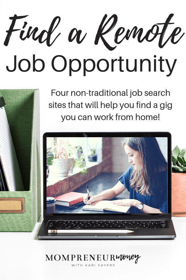 Find a remote job opportunity