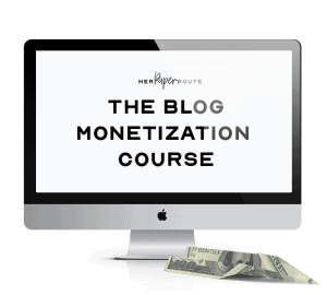 blog monetization course best affiliate marketing training