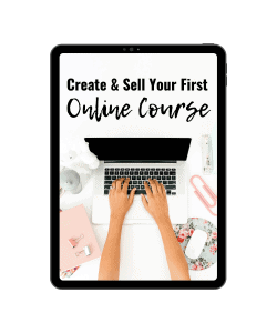 Sell your online course
