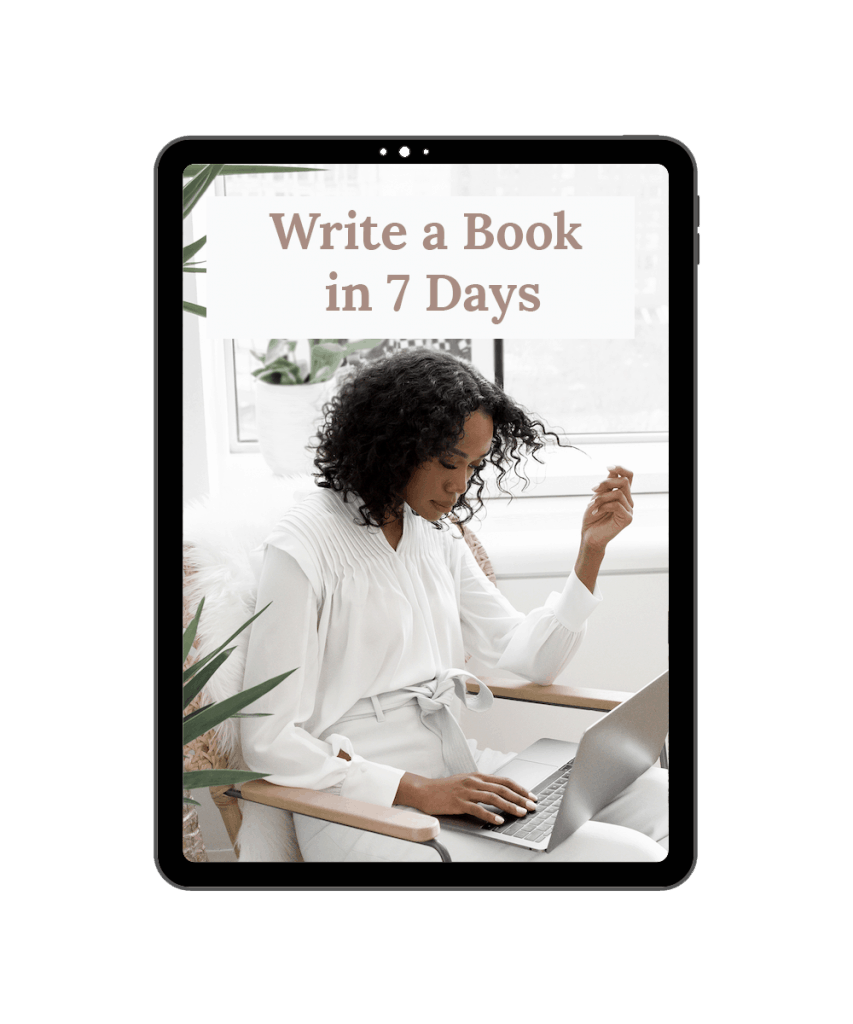 Write a Book in 7 Days
