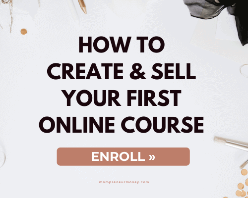 how to create and sell your first course